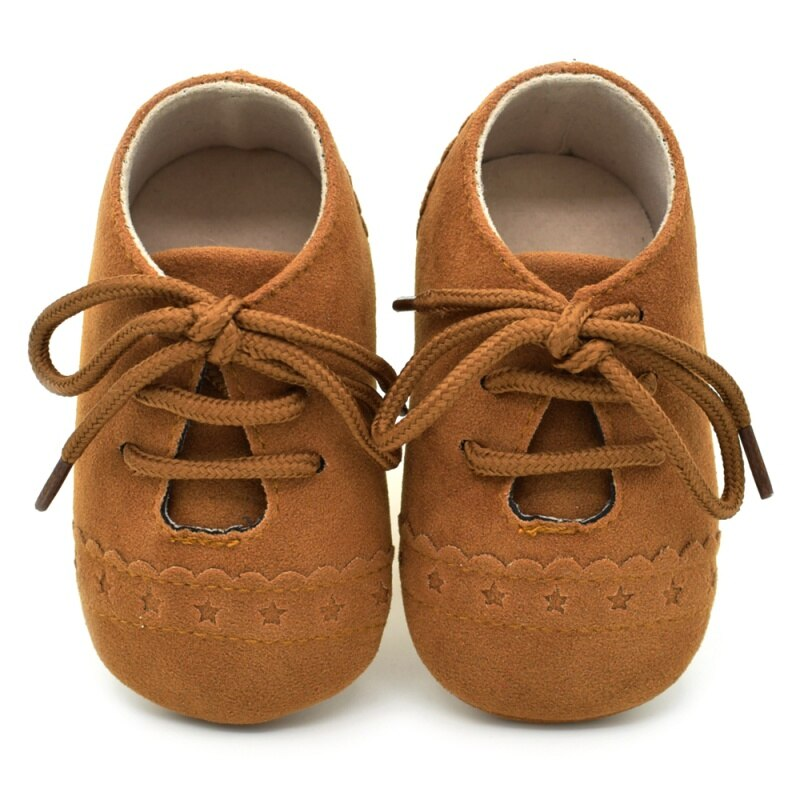 Vintage Style Lace-Up Baby Shoes